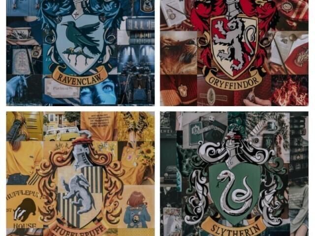Qual a sua casa em Hogwarts?