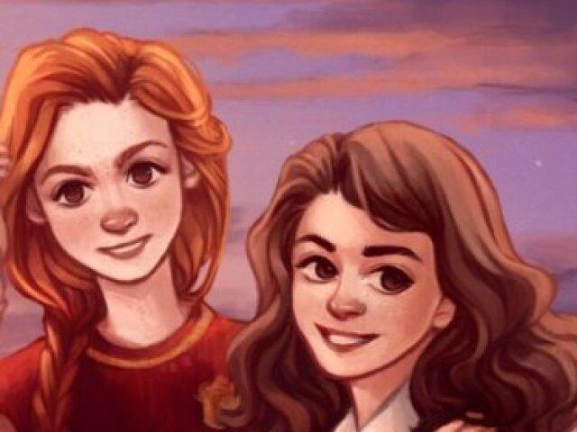 Vc é mais Gina ou Hermione?