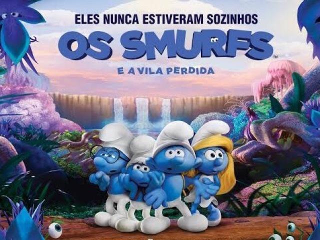 Quem você seria de Smurfs e a Vila Perdida?