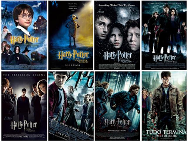Escolha imagens e te indicarei um filme de Harry Potter