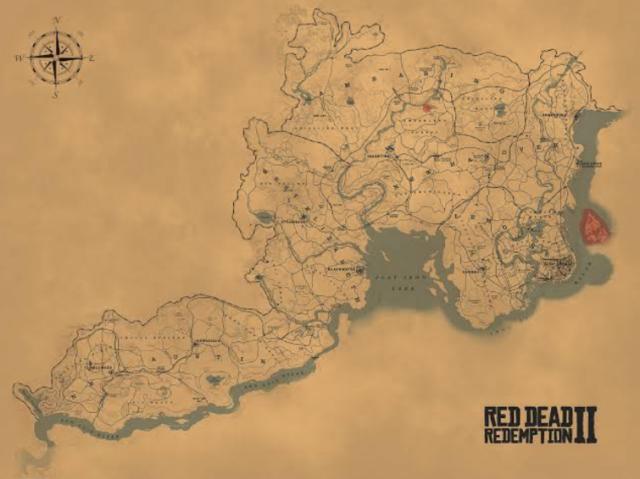 Qual estado de Red Dead Redemption 2 combina com você?