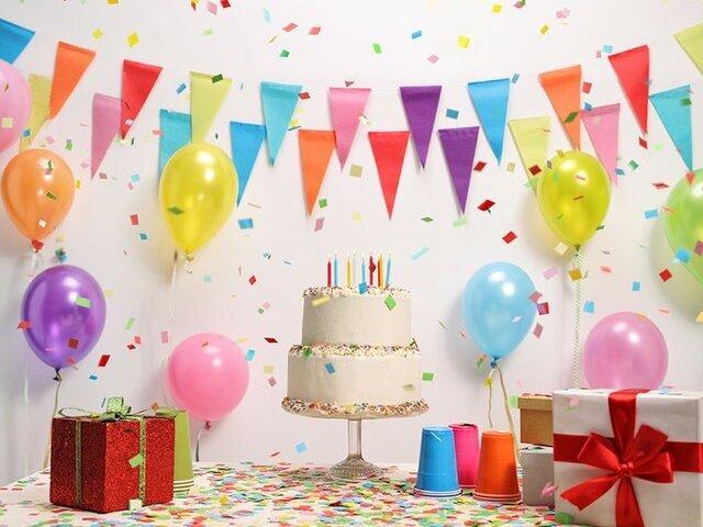 Crie sua festa de aniversário dos sonhos!