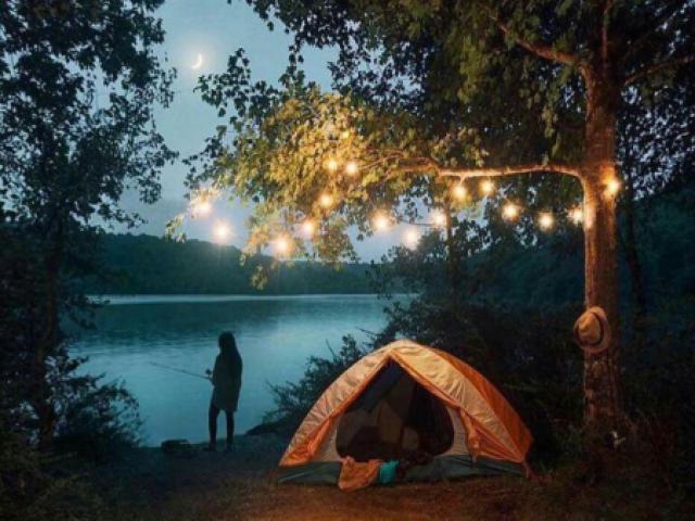 Faça seu acampamento dos sonhos 💕