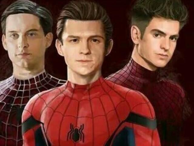 Quem você é dos homens aranha?
