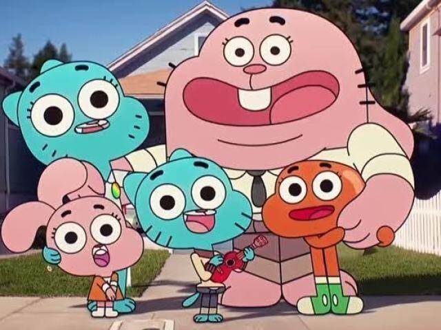 Você conhece os personagens de O Incrível Mundo de Gumball?