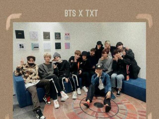 {K-pop}Escolha as imagens e indicarei uma música do TXT ou do BTS