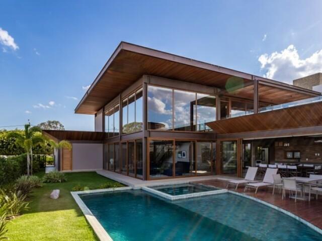 Onde seria a sua casa?