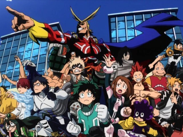 Você conhece Boku no Hero Academia?