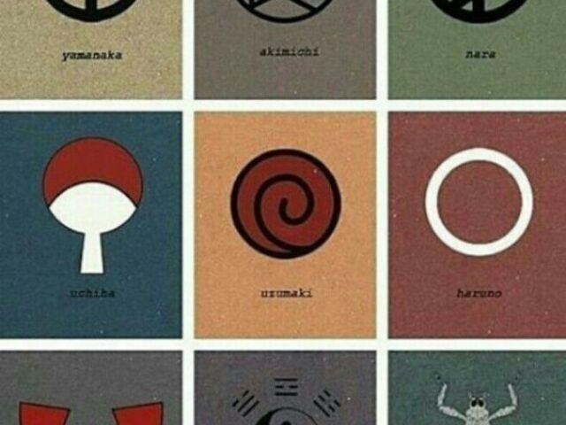 Você conhece os símbolos dos clãs de Naruto?