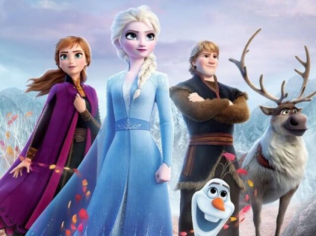 Quem você seria em Frozen? ❄️✨