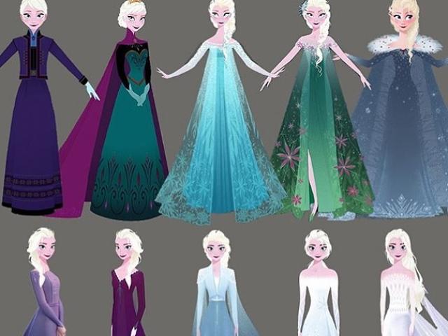 Qual vestido da Elsa mais combina com você?
