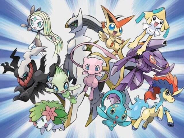 Qual Pokémon mítico você seria?