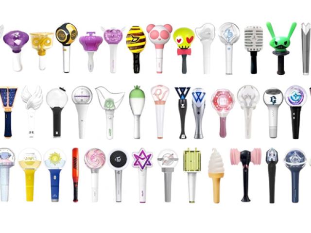 Adivinhe qual é o nome do grupo de k-pop pelos lightstick: