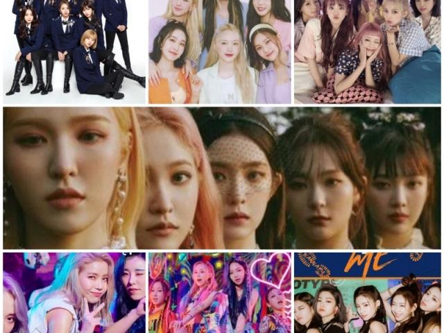 Escolha sua integrante favorita de cada girl group e te daremos uma música!