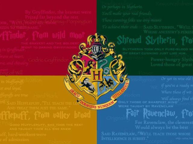 Quiz Rápido pra Saber sua Casa de Hogwarts