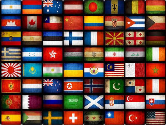 Descubra de qual país é a Bandeira! (Nível Médio)