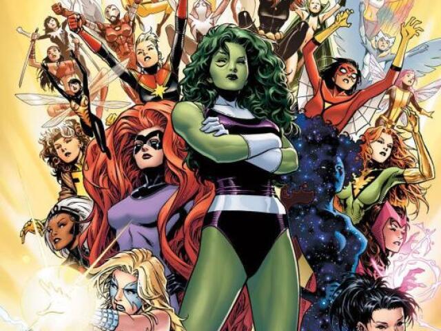 Qual heroína da Marvel você seria?