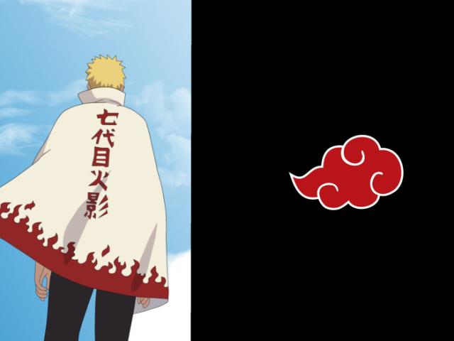 Você seria um hokage ou um membro da akatsuki?
