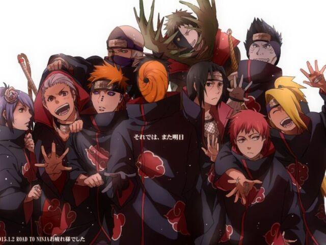 Qual membro da Akatsuki você seria!?