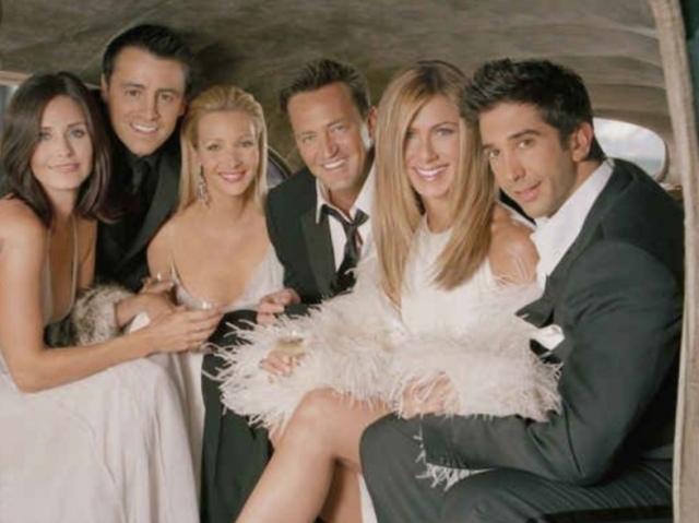 Que personagem de Friends você seria?