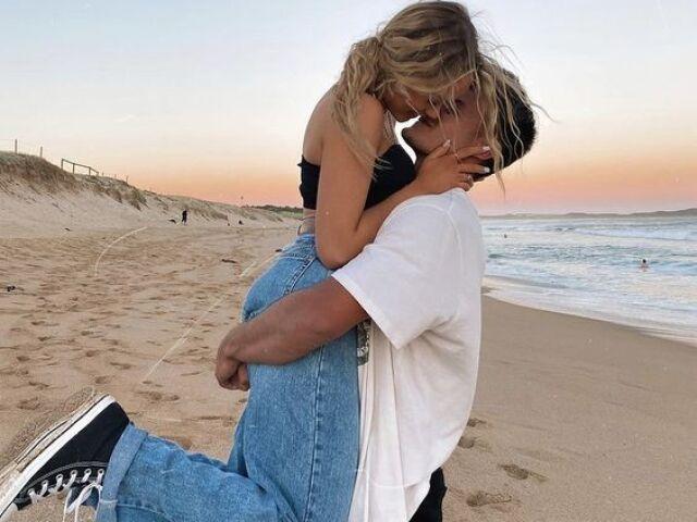 Monte seu álbum de fotos com seu namorado