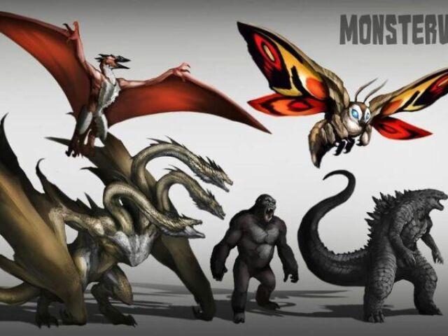 Vamos ver se você conhece os filmes dos Kaijus de Godzilla?