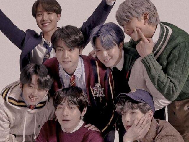 Com quem você se casaria do BTS?