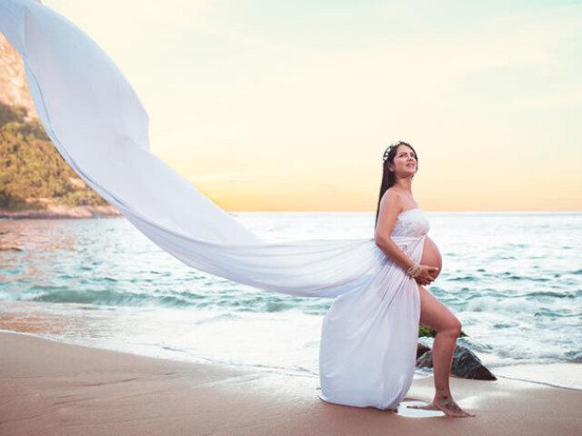 Monte seu ensaio de fotos grávida