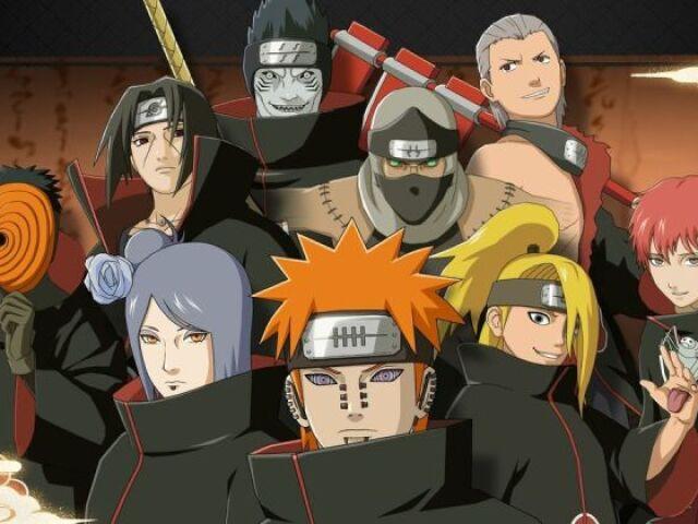 Quem você seria na Akatsuki?