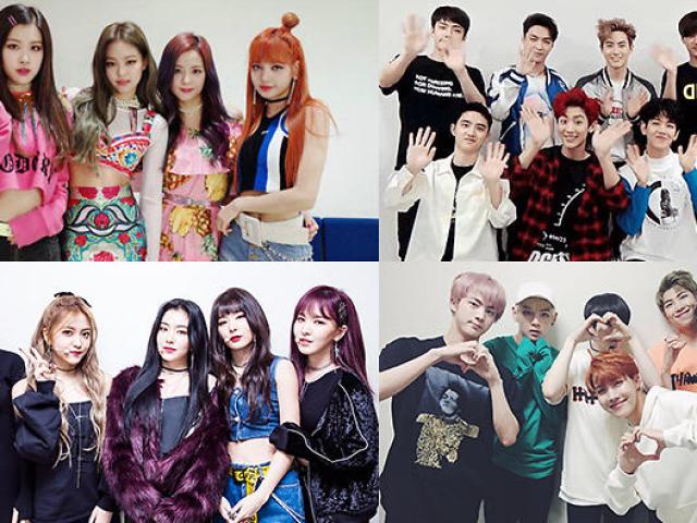 Você conhece esses grupos de k-pop?
