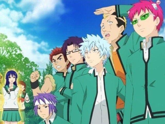 Quem você seria no anime Saiki Kusuo? 😉