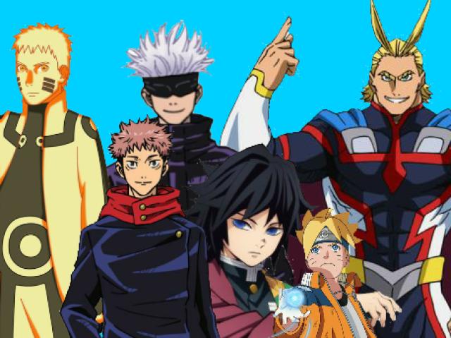 Em qual universo dos animes você viveria?