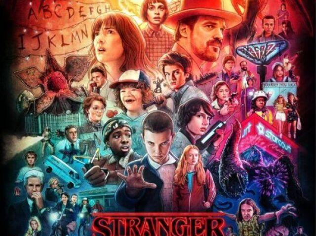 Quem seria seu melhor amigo de Stranger Things?