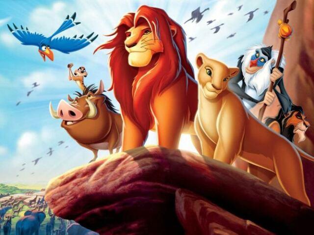 Quem serias em Rei Leão?
