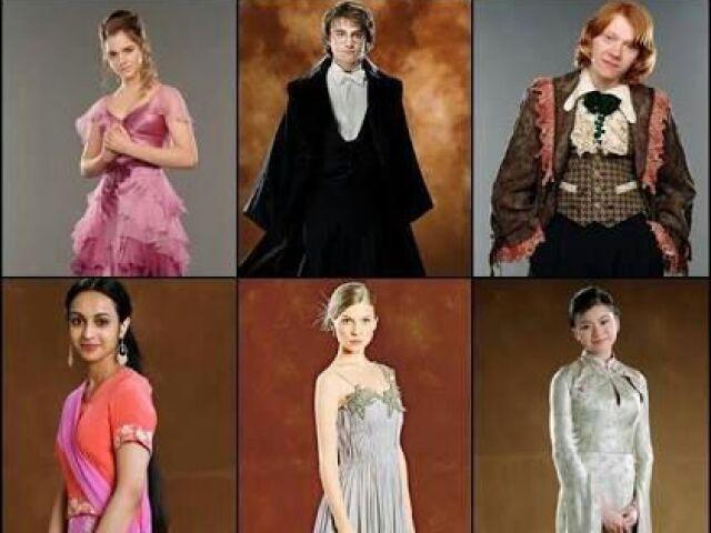 Com quem você iria ao Baile de Inverno?