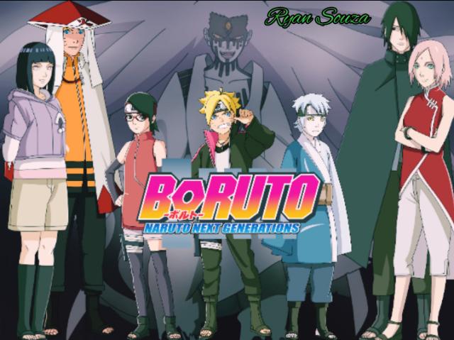 Quem você seria em Boruto?