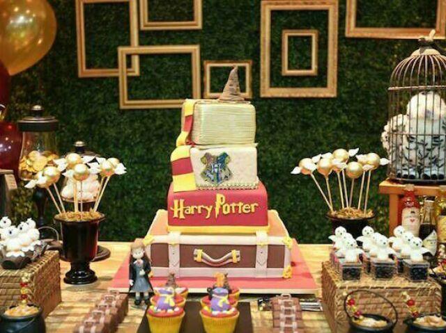 Crie sua Festa de Aniversário! (Tema Harry Potter)