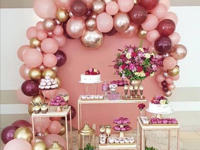 Monte sua festa dos sonhos