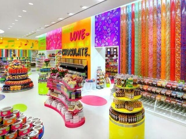 Monte sua loja de doces! 🍫🍬🍰🍭