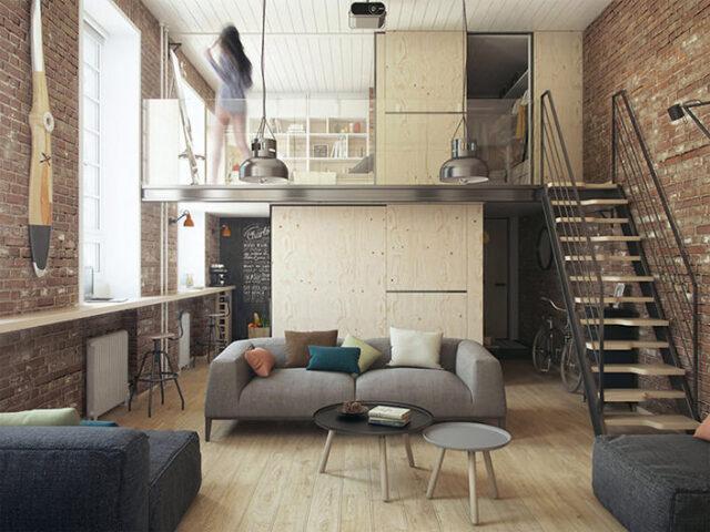 Monte seu pequeno apartamento