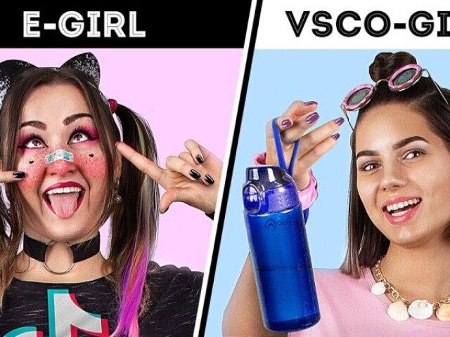 Vc é mais E-girl ou VSCO GIRL