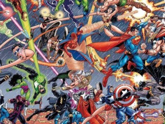 Você é mais Marvel ou DC?