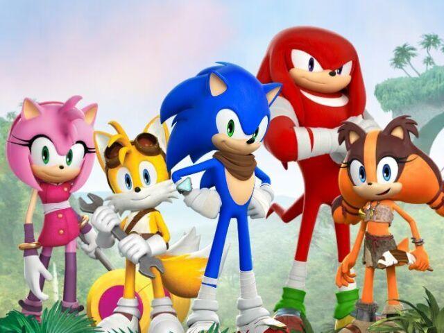 Quem você seria em Sonic?