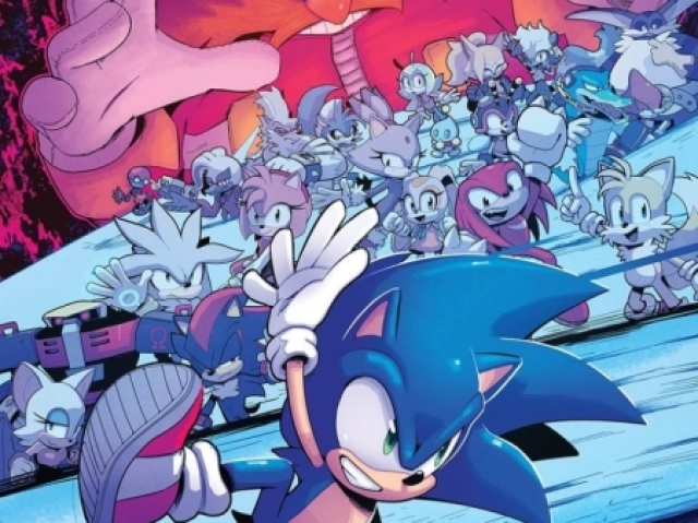 Quem você seria da turma de Sonic?