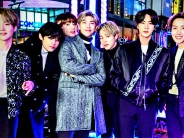 Você sabe os nomes dos membros do BTS em coreano?