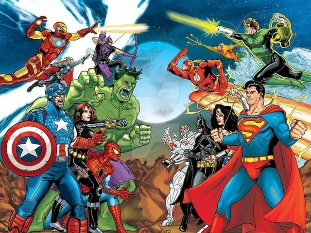 Você seria um herói da Marvel ou DC?