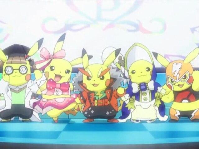 Qual dos Cosplay do Pikachu você teria?
