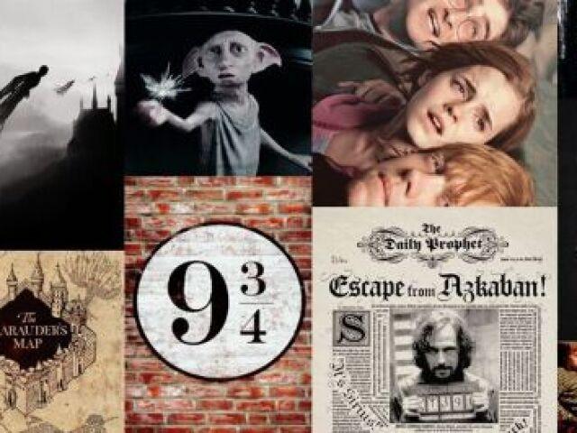Qual é a sua casa em Hogwarts?