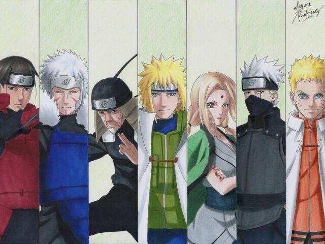 Qual hokage de Naruto você seria?