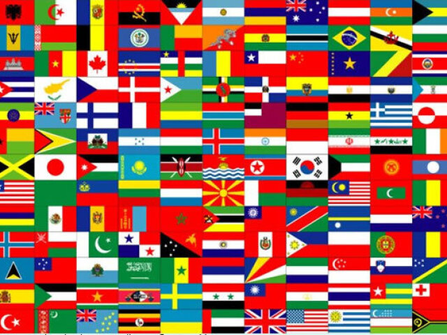Você sabe o nome desses países?
